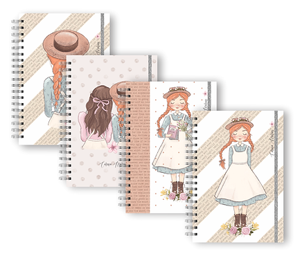 Caderno Universitário Anne