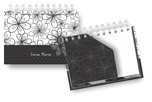 Arquivo Digital Mini Planner Color Preto A6