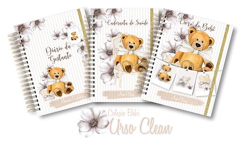 COMBO Coleção Mamãe Bebê Urso Clean
