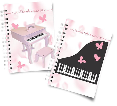 Caderno Musical A5