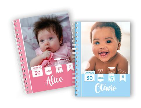 Arquivo Capas cadernetas de vacinação para foto EDITÁVEIS