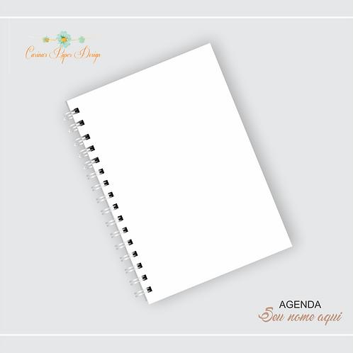 Mockup para Agenda/caderno A5 editável