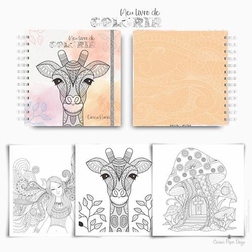 Arquivo Digital Livro de Colorir para adultos