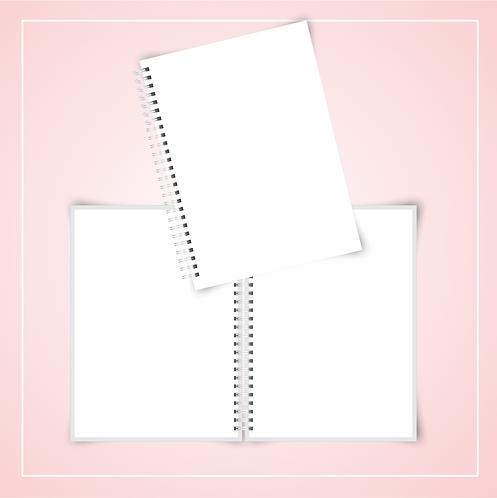 Mockup Caderno Universitário