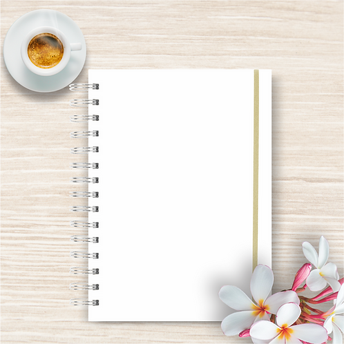 Mockup Agenda/ Planner A5 para capa 16x22cm