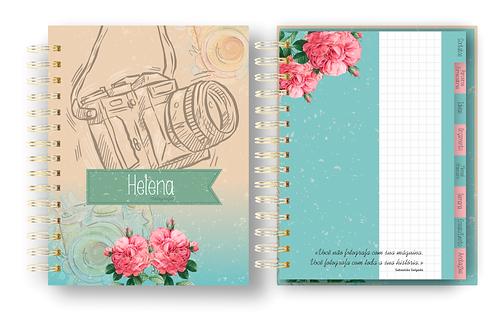 Arquivo digital Planner Fotógrafo (a) Permanente com capas Femininas e Neutras