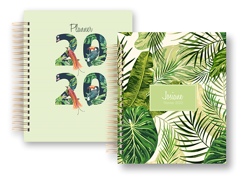 Arquivo digital Big Planner Tropical