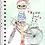 Thumbnail: Arquivo digital Caderno Menina com Bicicleta 13x20cm