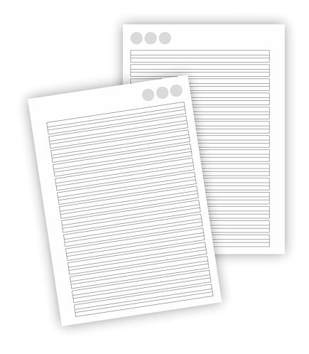 Arquivo digital miolo caligrafia A5
