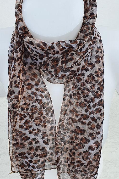 Schal mit Tiger Muster