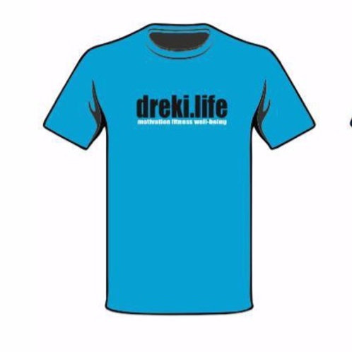 Ladies dreki.life t-shirt - BLUE