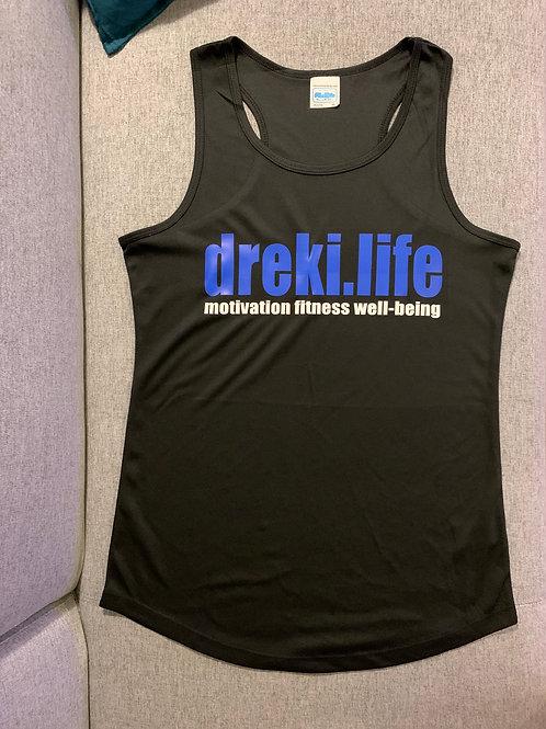 Ladies dreki.life vest - BLACK