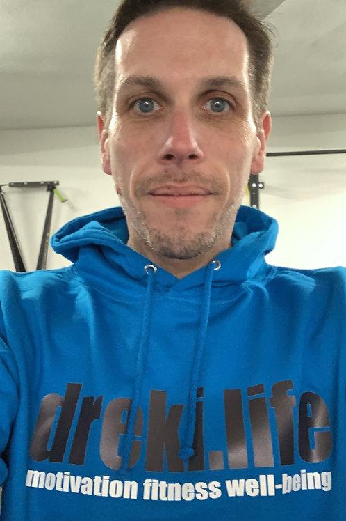 dreki.life hoodie - BLUE