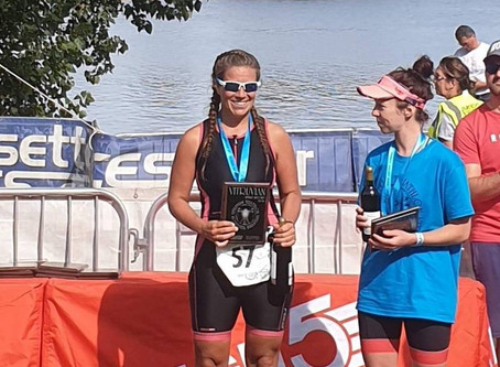 Do3 weekend round up - Podiums and personal bests at long course and short course triathlons