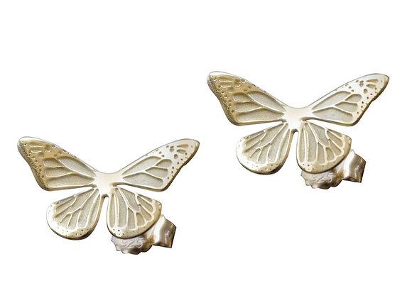 Aretes Monarca Oro