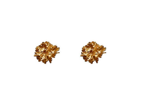 Aretes Cempasúchil oro