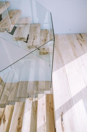 bleached pecan wood floating stairs.jpg