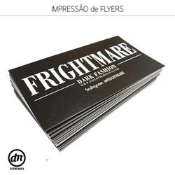 PRODUÇÃO DE FLYERS