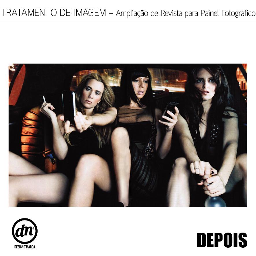 TRATAMENTO DE IMAGEM + AMPLIAÇÃO DE REVISTA PARA PAINEL FOTOGRÁFICO