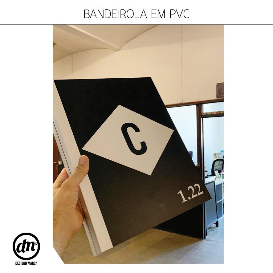BANDEIROLA EM PVC