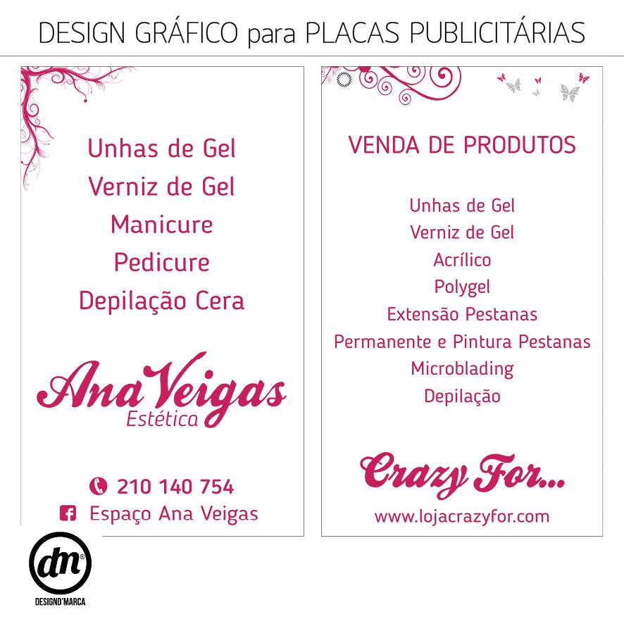 DESIGN GRÁFICO PARA PLACA DE LOJA