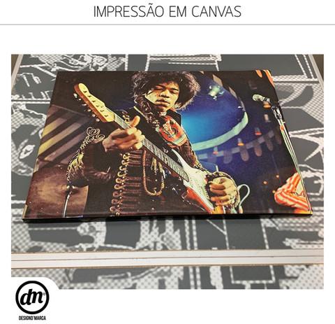 IMPRESSÃO DIRETA EM CANVAS