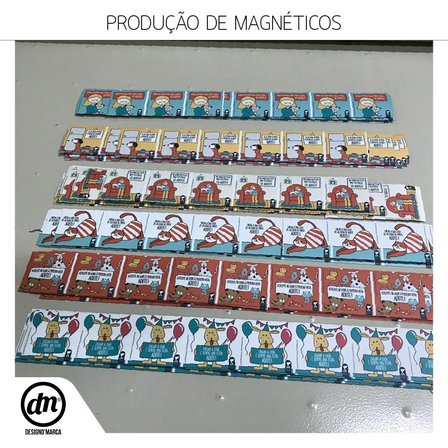 PRODUÇÃO DE MAGNÉTICOS