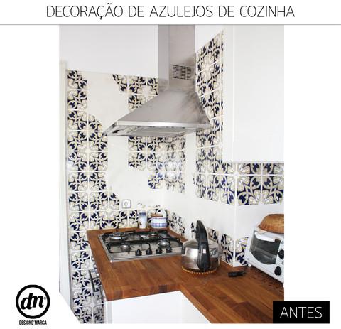DECORAÇÃO DE AZULEJOS DE COZINHA