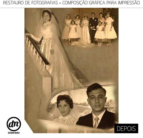 RESTAURO DE FOTOGRAFIAS ANTIGAS PARA IMPRESSÃO EM CANVAS