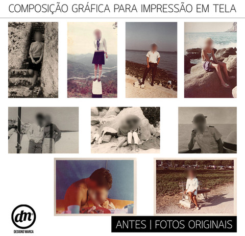 TRATAMENTO DE IMAGEM + COMPOSIÇÃO GRÁFICA PARA IMPRESSÃO EM TELA