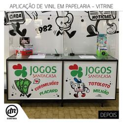 DEPOIS - DECORAÇÃO DE VITRINE - CASA VENTURA