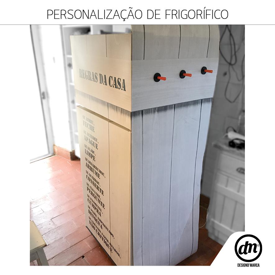 PERSONALIZAÇÃO DE FRIGORIFICO