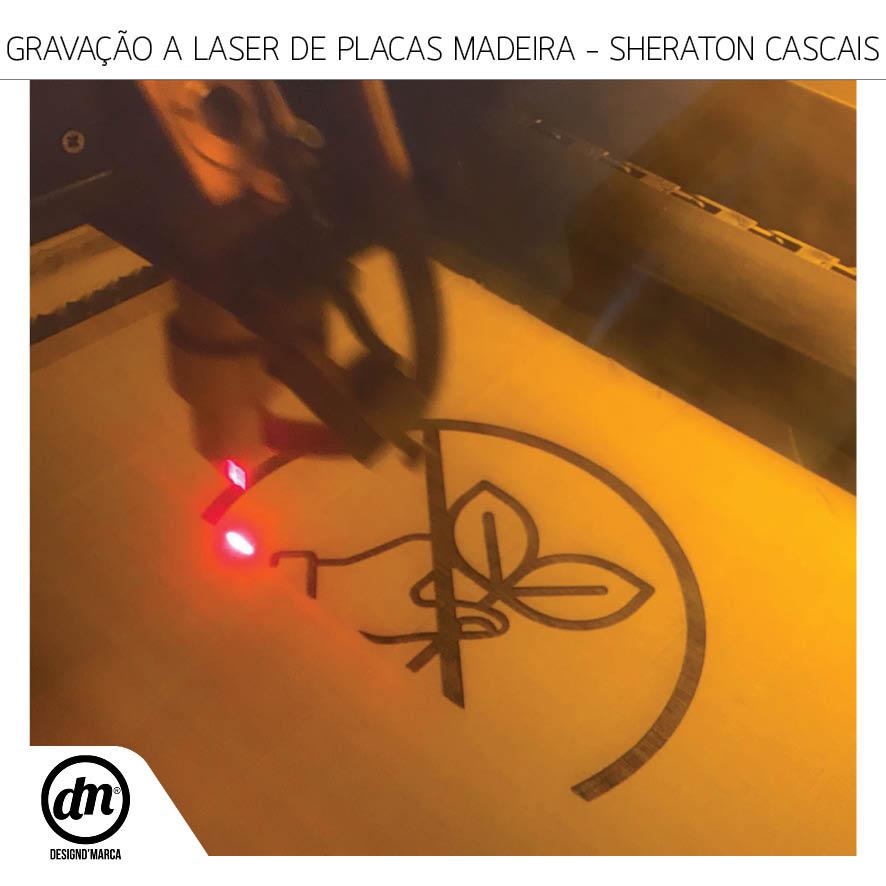 GRAVAÇÃO A LASER - SHERATON CASCAIS