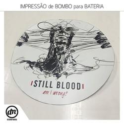 IMPRESSÃO DE BOMBO PARA BATERIA