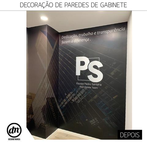 DECORAÇÃO DE PAREDES DE GABINETE