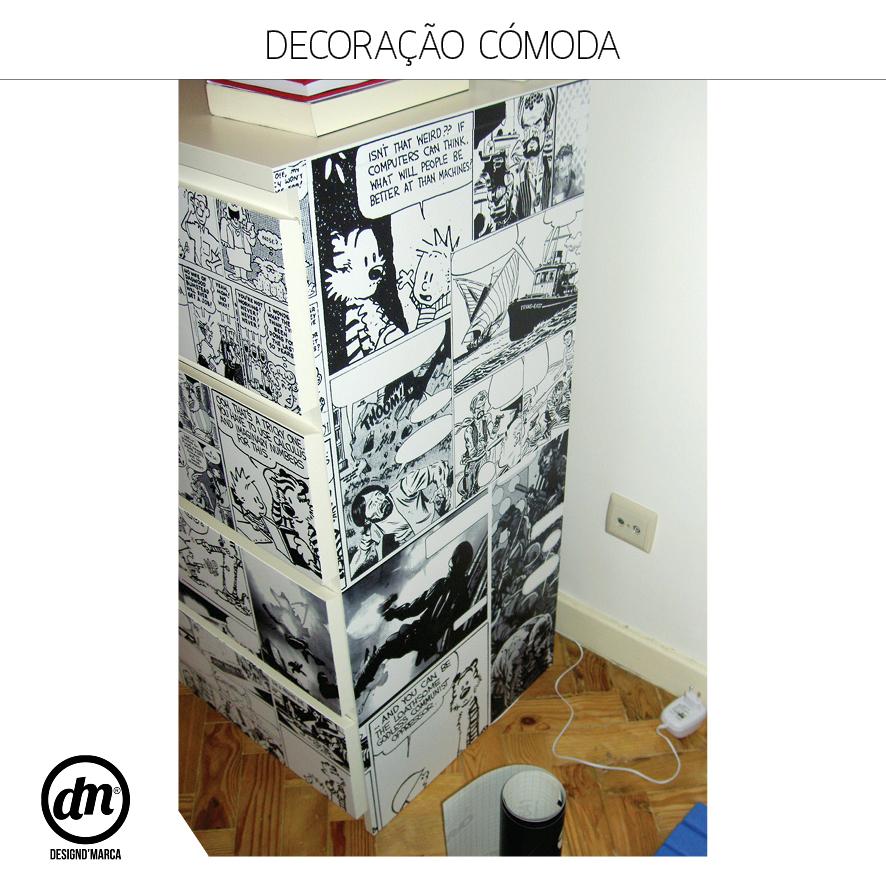 DECORAÇÃO DE CÓMODA