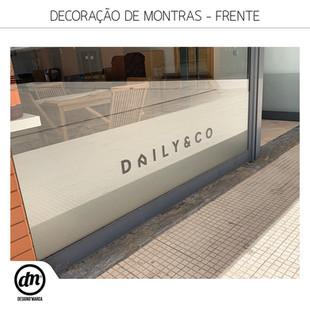 DECORAÇÃO DE MONTRAS - FRENTE E TRASEIRAS