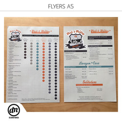 Impressão de Flyers A5