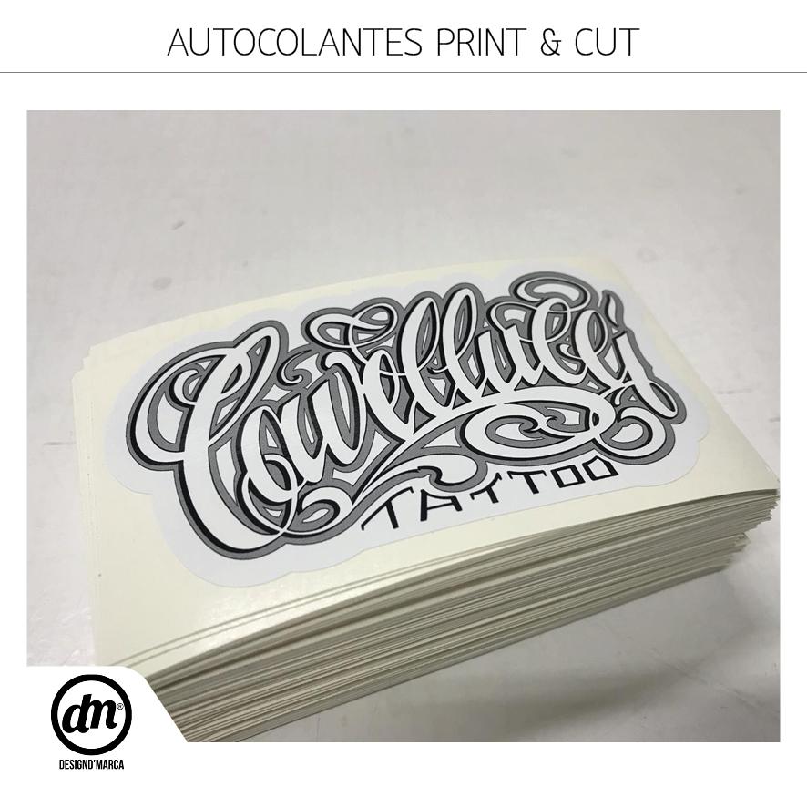 Impressão de Stickers