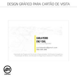 DESIGN GRÁFICO para CARTÃO VISITA