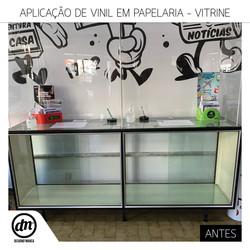 ANTES - DECORAÇÃO DE VITRINE - CASA VENTURA