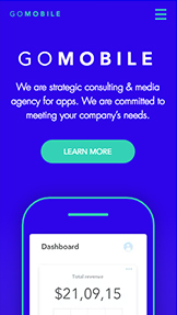 Technology & Apps website templates – Mobile App Marketing