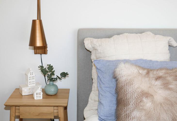 master bedroom modern retro tranquil fre