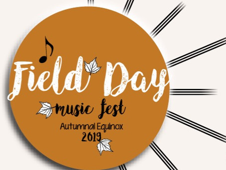 Update to the Fall Field Day Music Festival
