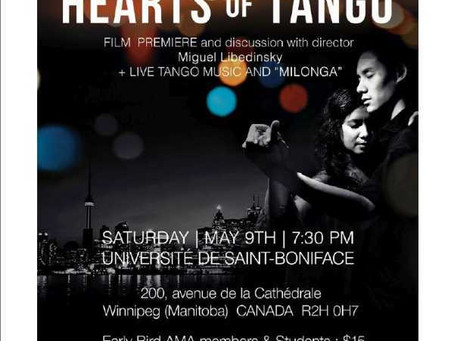 Hearts of Tango – Film Premier and Discussion with Director