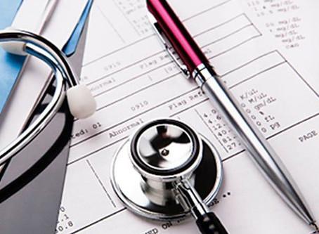 Info acerca del pedido de exámenes médicos
