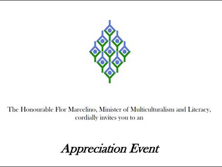 MEAAC – Appreciation Event