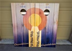 Plank flag