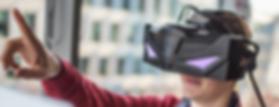 VRHero 5K by VRGineers using special oculars designed by Cinema2Go