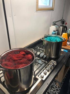 I'm Dye-ing Over Here!